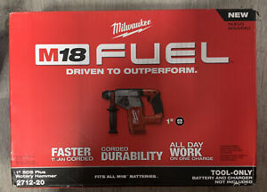 Milwaukee 2712 20 M18 Fuel 1 Sds Plus Rotary Hammer tool Only