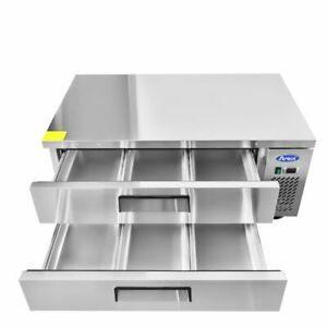 48 Refrigerated Chef Base 2 Draws 4 Foot Wide Great For Food Trucks 115volt Nsf