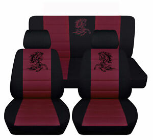 Seat Covers Fits Ford Mustang 2005 To 2010 Tribal Horse