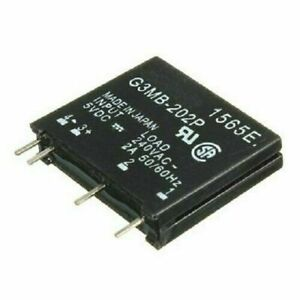 G3mb 202p Solid State Relay Module Input 5v Dc Output 240v Ac 2a Ssr Usa