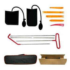 Automotive Car Tool Kit With Easy Entry Long Reach Grabber Air Wedge Non Marri