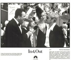 INamp;OUT SELLECK HARLOW DILLON PRESS PASS PHOTO RELEASE 10X8 B W 2977 1997 $0.99
