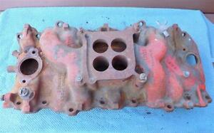 Oem Gm 3866948 Intake Manifold Big Block Chevy 396 427 65 67 Holley Dated D 13 5