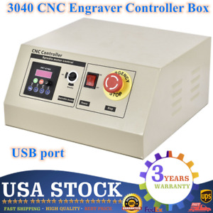 Controller Box For 800w 4 Axis 3040 Cnc Usb Router Engraving Milling Machine