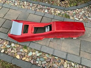 62 63 64 Galaxie Console Shell Support Frame And Lid With Hinge Nice Original
