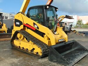 2012 Cat 279c 2 Speed Turbo Cold A c Self Leveling Power Quick Attach