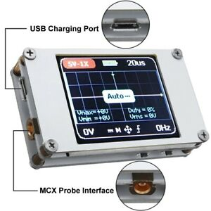 Portable Fnirsi Dso188 Oscilloscope 1 8 Color Display For Vehicle Maintenance