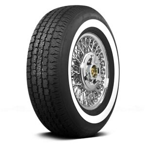 Coker Set Of 4 Tires P215 75r15 S American Classic 1 3 Inch Whitewall