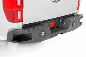Rough Country For Ford Heavy Duty Rear Led Bumper 19 21 Ranger
