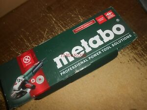 Metabo Wep 15 150 6 Angle Grinder New In Box German Made