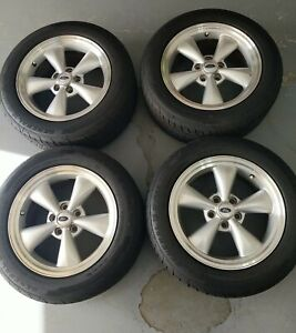 Set Of 4 2007 Oem Ford Mustang Gt Wheels And Tires 17 Inch Pickup Only