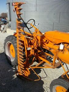 Allis Chalmers B Tractor Ac Side Mount Sickle Bar Mower Extremely Rare Hard Find