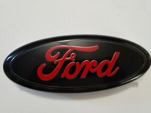9 Ford Red And Black Emblem For Ranger F150 F350