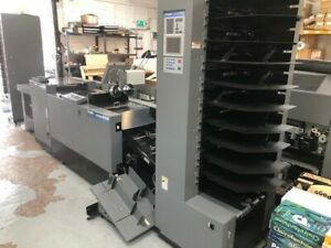 Duplo System 4000 Booklet Maker With 10 Bin Collator