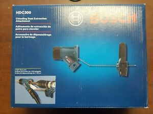 Bosch Chiseling Dust Sds max And Spline Extraction Attachment Hdc300