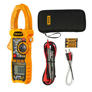 Ingco Digital Auto Ranging 1000a True Rms Ac Current Amp Meter Dcm10004