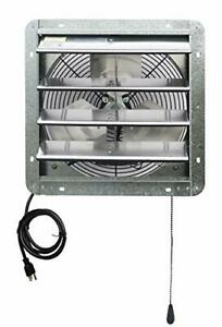 Iliving 14 Wall Mounted Shutter Exhaust Thermostat Control 3 Speeds Vent Fan