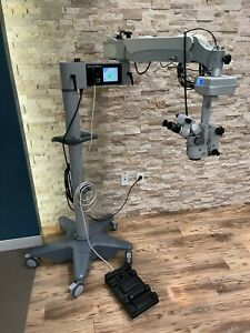 Endure Medical E7 Surgical Ophthalmic Microscope With Carl Zeiss Opmi Md Oculars
