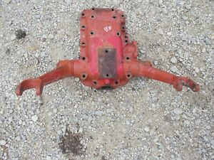Ford 8n Tractor Transmission Housing Cover W 3pt Hitch Lift Arms Rockshaft