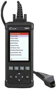 Launch Cr7001s Obd2 Automotive Scanner Car Code Reader Abs Srs Diagnostic Tool