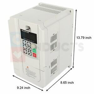 5 5kw 7 4hp 380v 15a Variable Frequency Drive Inverter 3 To 3 Phase Output
