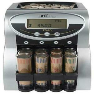 Commercial Coin Counter Sorter Machine Fast Sorting Digital Lcd Money Change New