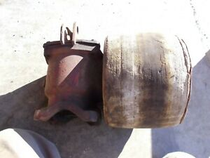 Ford 8n 9n Tractor Pto Power Take Off Flat Belt Pulley W Drive Assembly 9n748