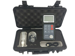 Ultrasonic Thickness Gauge Measuring Instrument With Standard Probe 1 2 To 230mm