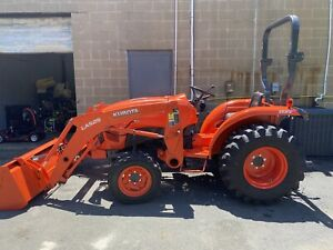 Kubota Tractor L3901 Electrical Fire Damage Needs Repairs