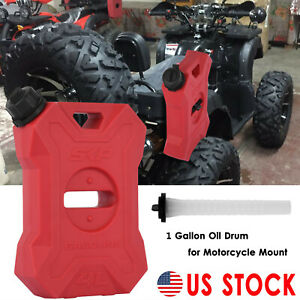 1 Gallon Fuel Pack Spare Container Off Road Pack gas Can Spare Fuel Oil Drum Rd