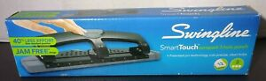 Swingline Smart Touch 3 Hole Punch Jam Free 12 Sheet Capacity Low Force Punch
