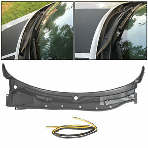 New Windshield Wiper Cowl Grille Panel For 08 19 Dodge Challenger