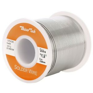 60 40 Tin Rosin Core Solder Wire Electrical Soldering Sn60 Flux 031 0 8mm 1lb