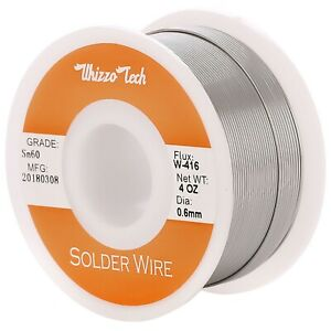 60 40 Tin Rosin Core Solder Wire For Electrical Soldering Sn60 Flux 0 8mm 100g