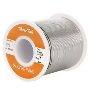 60 40 Tin Rosin Core Solder Wire Electrical Soldering Sn60 Flux 039 1 0mm 1lb