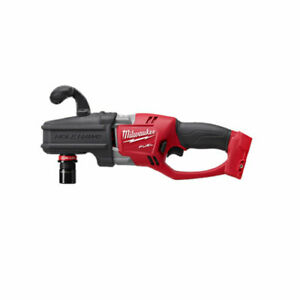 Milwaukee 2808 20 M18 Fuel Hole Hawg Right Angle Drill W Quik lok Bare