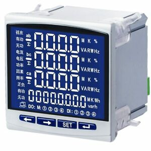 Electric Power Instrument Three phase Single phase Power Electric Energy