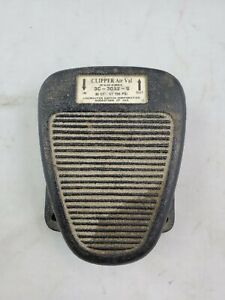 Vintage Linemaster 3c 30a2 s Clipper Air Val Pneumatic Foot Switch