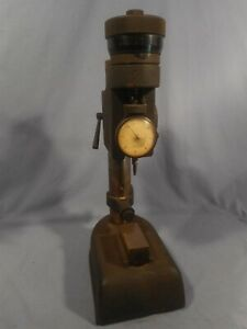 Federal D1kb Gauge Head Stand Dial Indicating Bench Comparator Micro Adjust