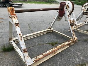 Morgan Utility Cable Reel Stand 2 Available Oxford Ma Reel Trailer Equipment