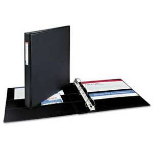 Avery Durable Binder With Two Booster Ezd Rings 11 X 8 1 2 1 077711083028