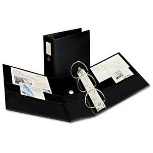 Avery Durable Binder With Two Booster Ezd Rings 11 X 8 1 2 5 077711089013
