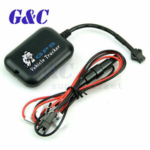 Mini Vehicle Bike Motorcycle Gps gsm gprs Real Time Tracker Tracking Device
