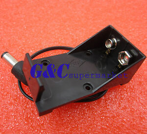 New 9v Battery Holder Box Case Wire Plug 5 5 2 1mm For Arduino Au