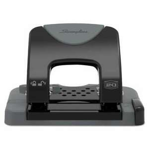 Swingline 20 sheet Smarttouch Two hole Punch 9 32 Holes Black 050505741359