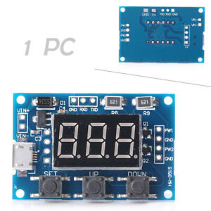 Adjustable Pwm Pulse Frequency Duty Cycle Square Wave Signal Generator Module T5