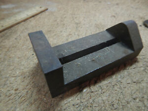 Vintage Small Machinist Drill Press Vise Base Unfinished