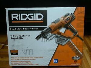 Ridgid R6791 1 3 In Drywall And Deck Collated Screwdriver