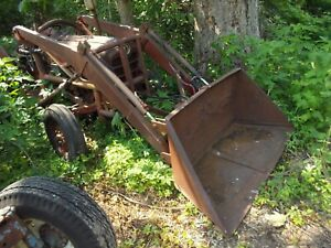 Hydraulic Dump Material Bucket Loader For Ford 601 700 800 Naa Jubilee Tractor