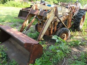 Hydraulic Dump Material Bucket Loader For Ford 601 701 800 Naa Jubilee Tractor